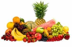 vela ovocia, farebne ovocie